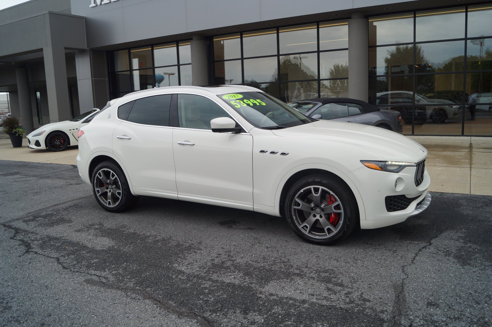 Certified Pre-Owned 2017 Maserati Levante S